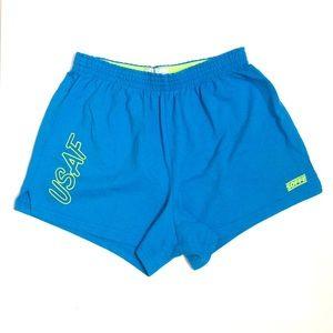 🍋 Vintage neon blue Soffe USAF shorts 🍋